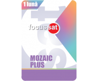 Cartela Mozaic plus 1 luna